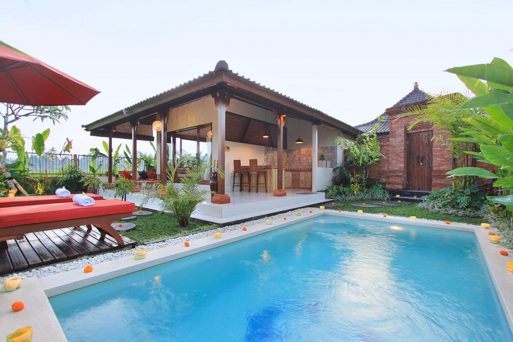 Candy Villa Villa Lemon Villas For Rent In Ubud Bali Indonesia