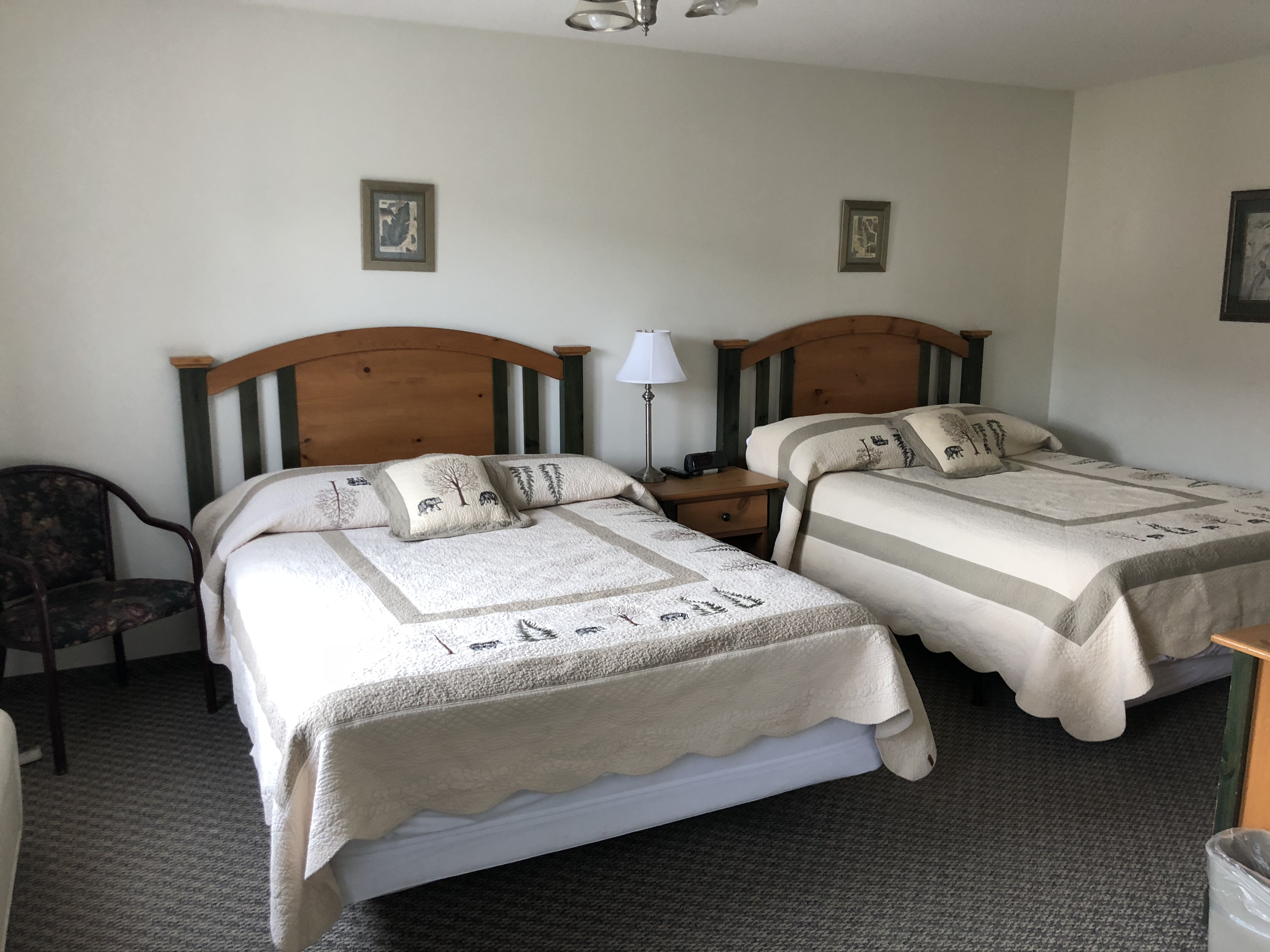 Picture of: Downtown Jasper Private Room 2 Queen Beds Boutique Hotels For Rent In Jasper Alberta Canada