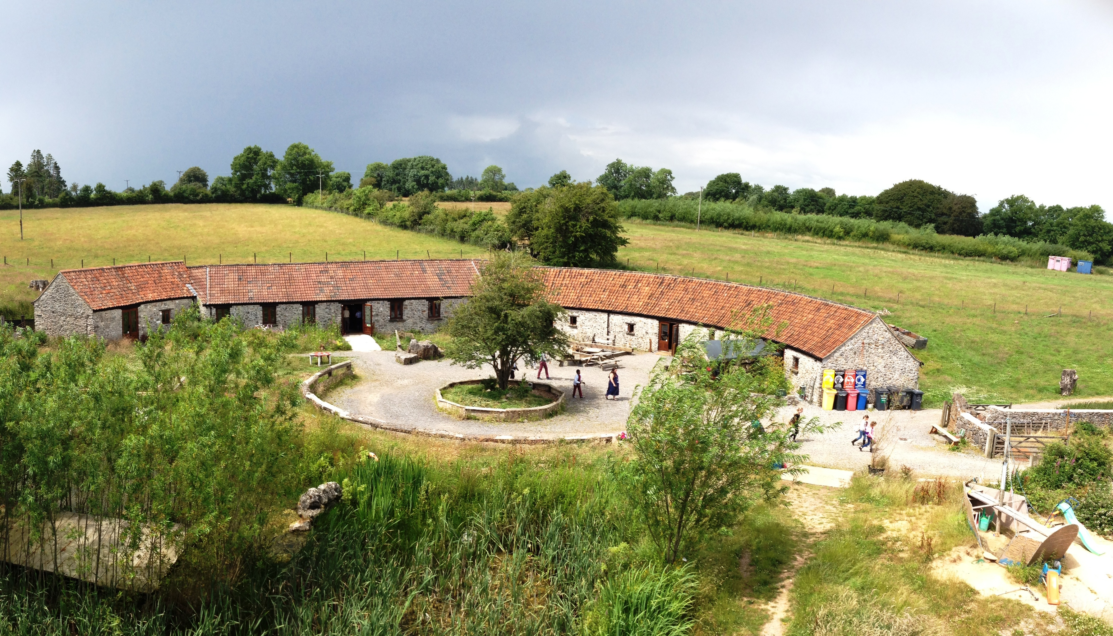 Fernhill Farm Camping Barns Barns For Rent In Somerset