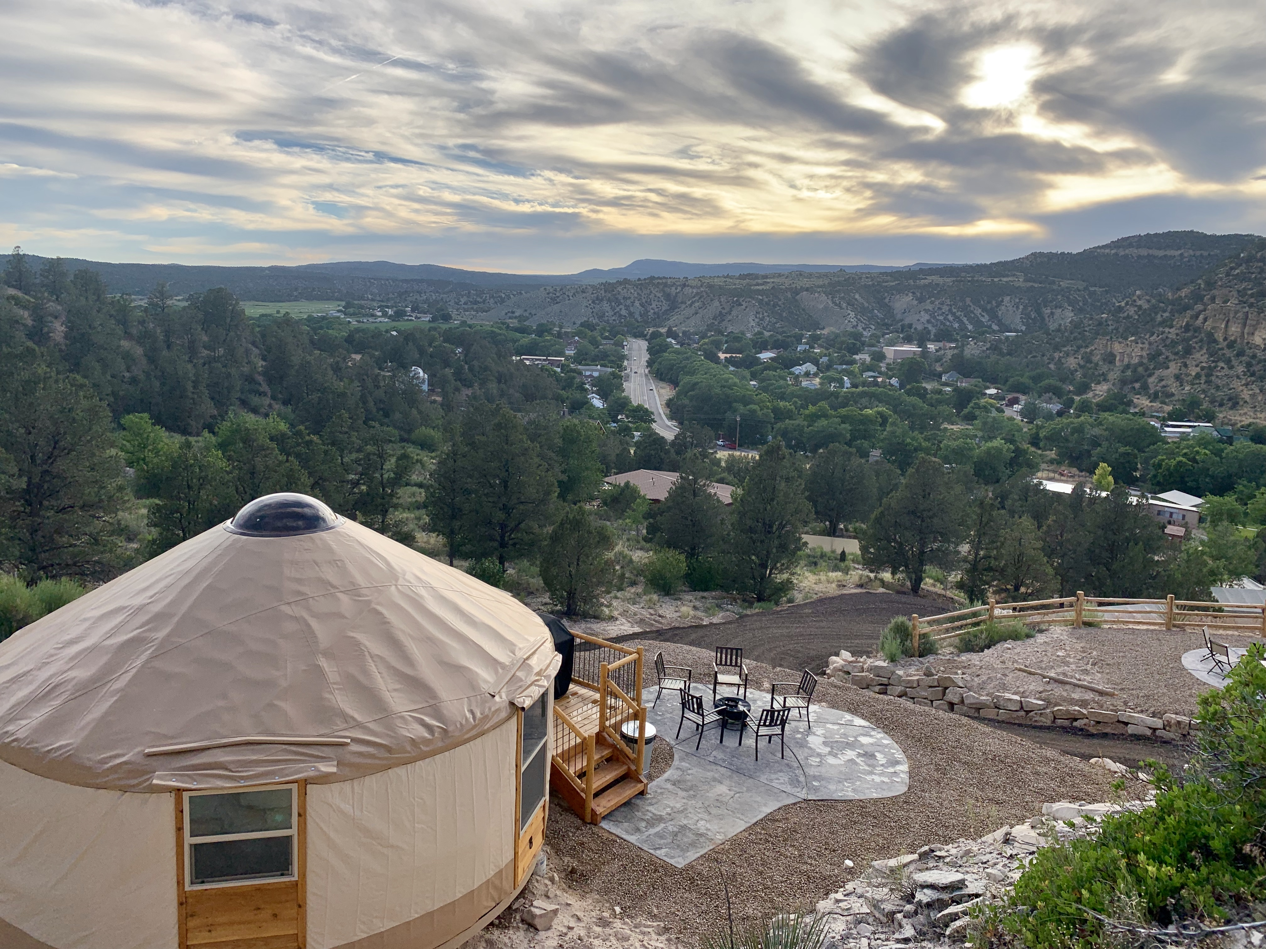 Yurt Overlook At East Zion Resort 8 King Suite Yurts For Rent In Orderville Utah United States