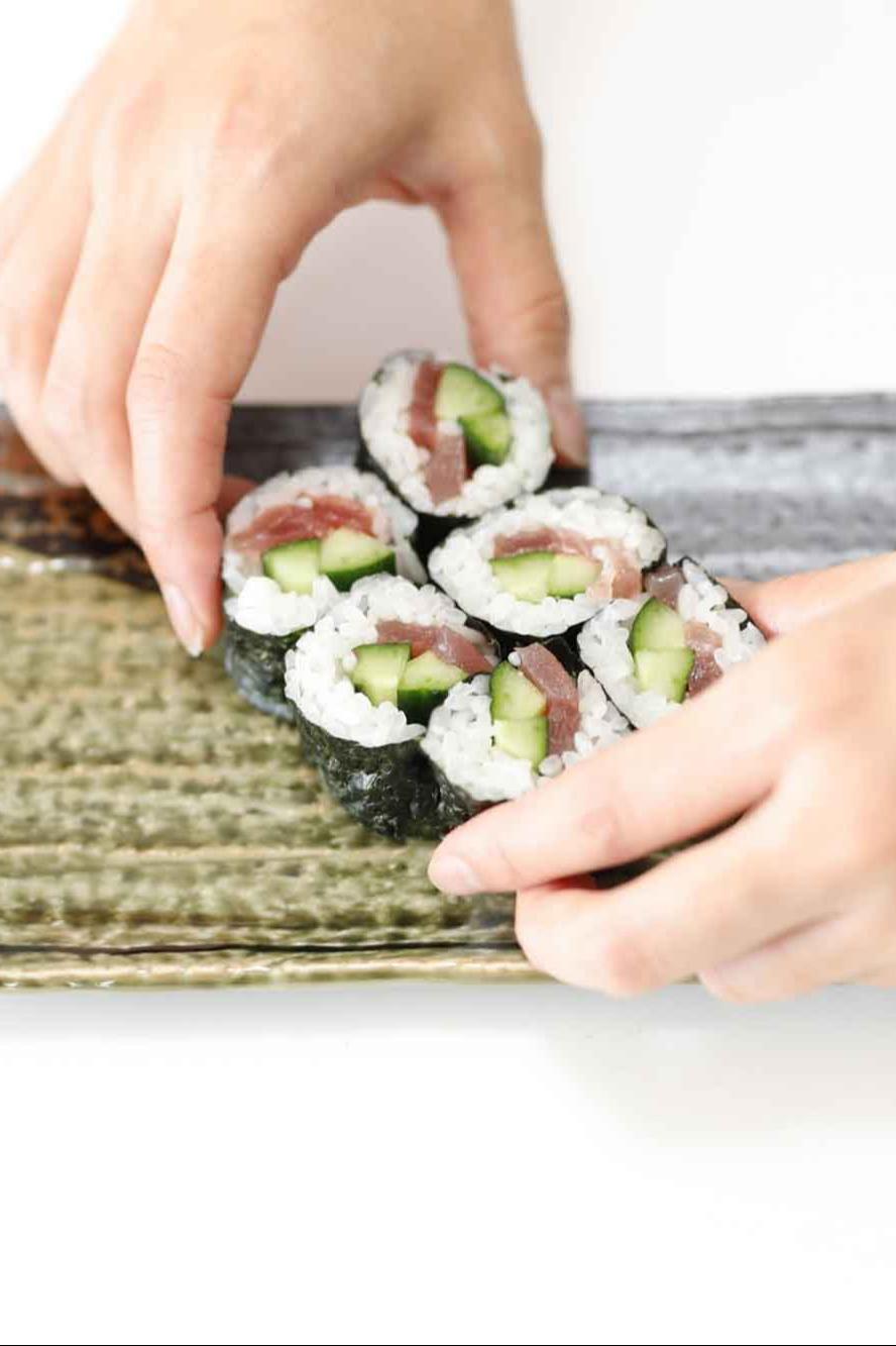 Conviértete en un maestro del sushi y la sopa de miso