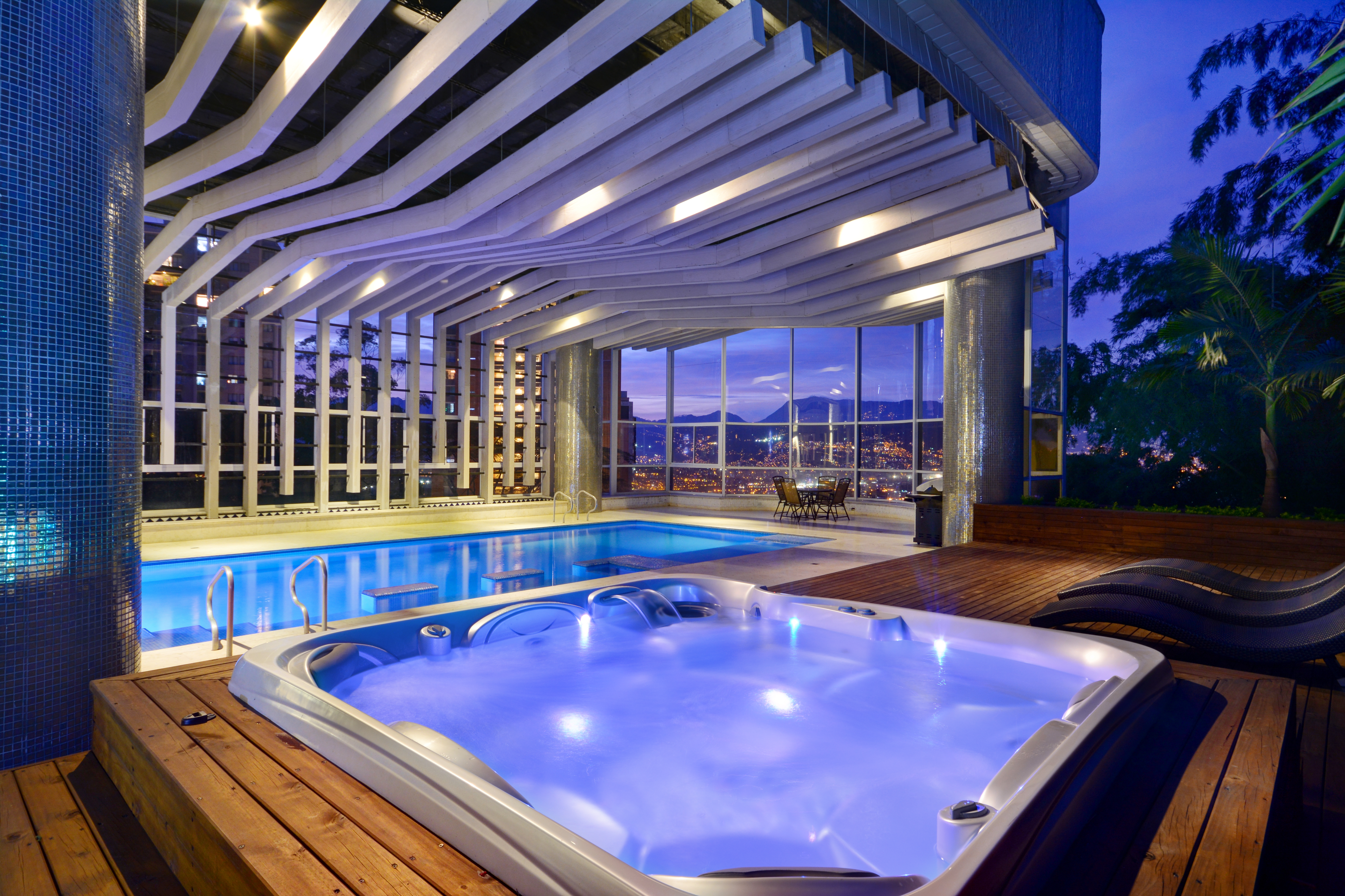 Stunning Penthouse With Indoor Pool Flats For Rent In Medellin Antioquia Colombia