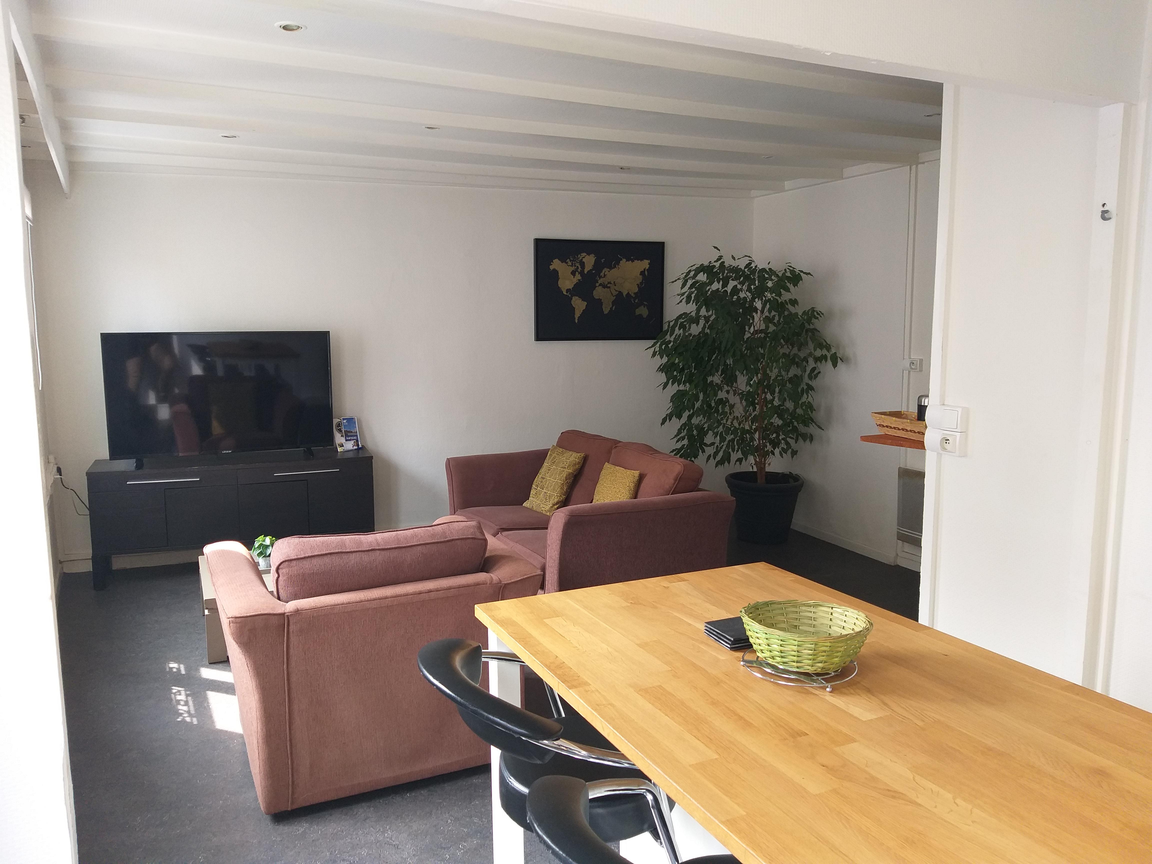 Meuble Four Plaque Induction appartement rosendael/dunkerque proximité plage - flats for