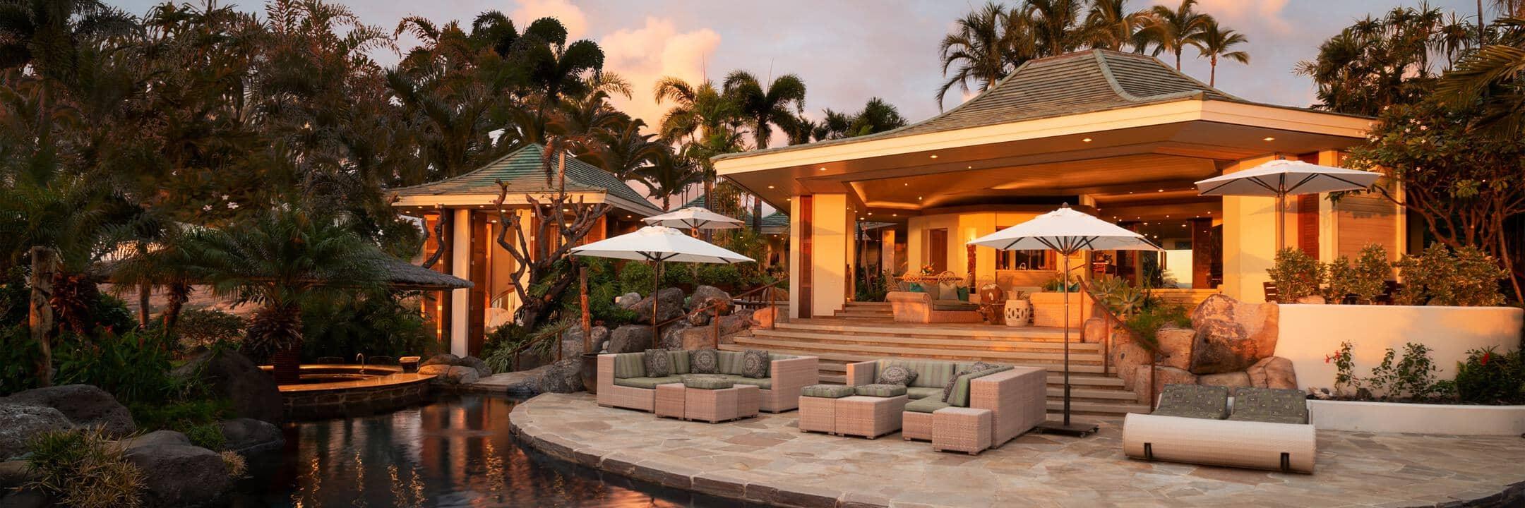 Luxury rentals in Island of Hawai'i