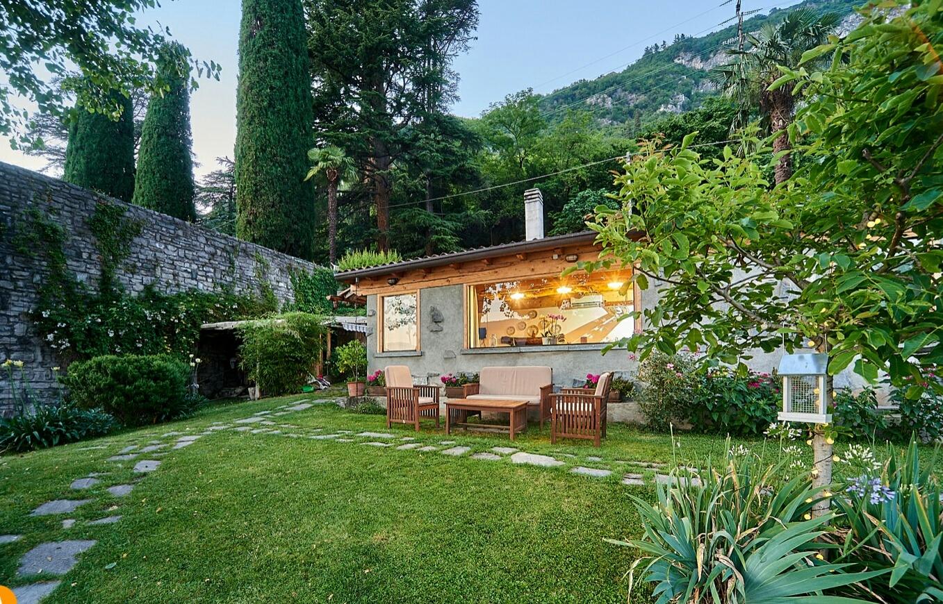 Come Recintare Un Giardino piccola casa naturale sul lago - houses for rent in varenna