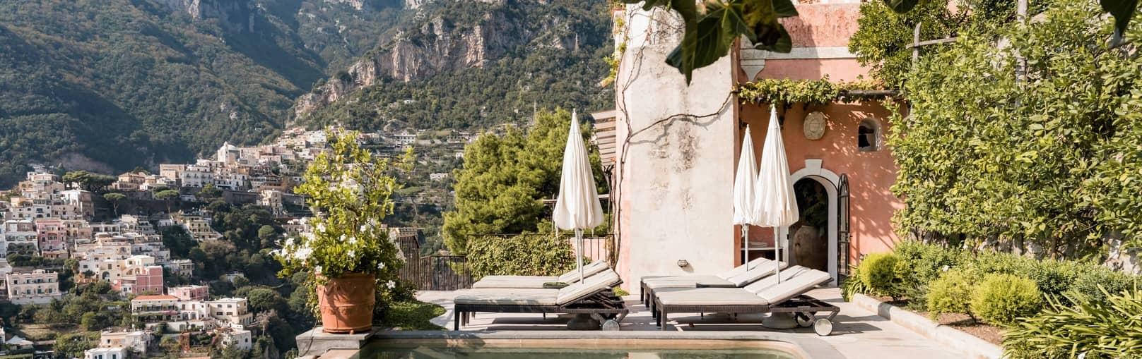 Luxury rentals in Amalfi Coast