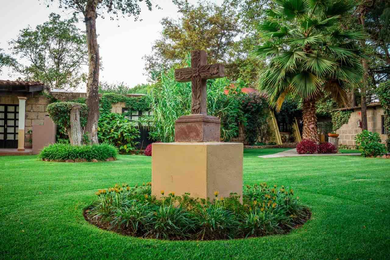 Exterior de Cabañas Quinta Patricia, de los hoteles románticos de Querétaro