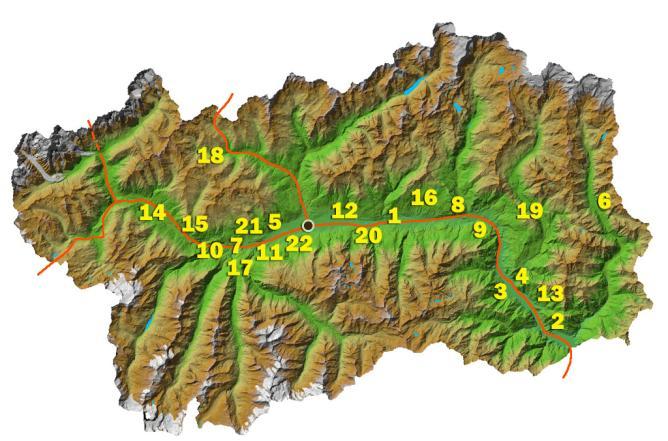 Valle D Aosta Cartina Tematica.Mansarda Per 4 In Centro Storico Appartamenti In Affitto A Aosta Valle D Aosta Italia