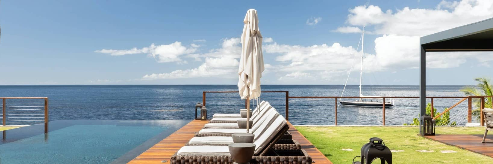 Luxury rentals in St. Lucia