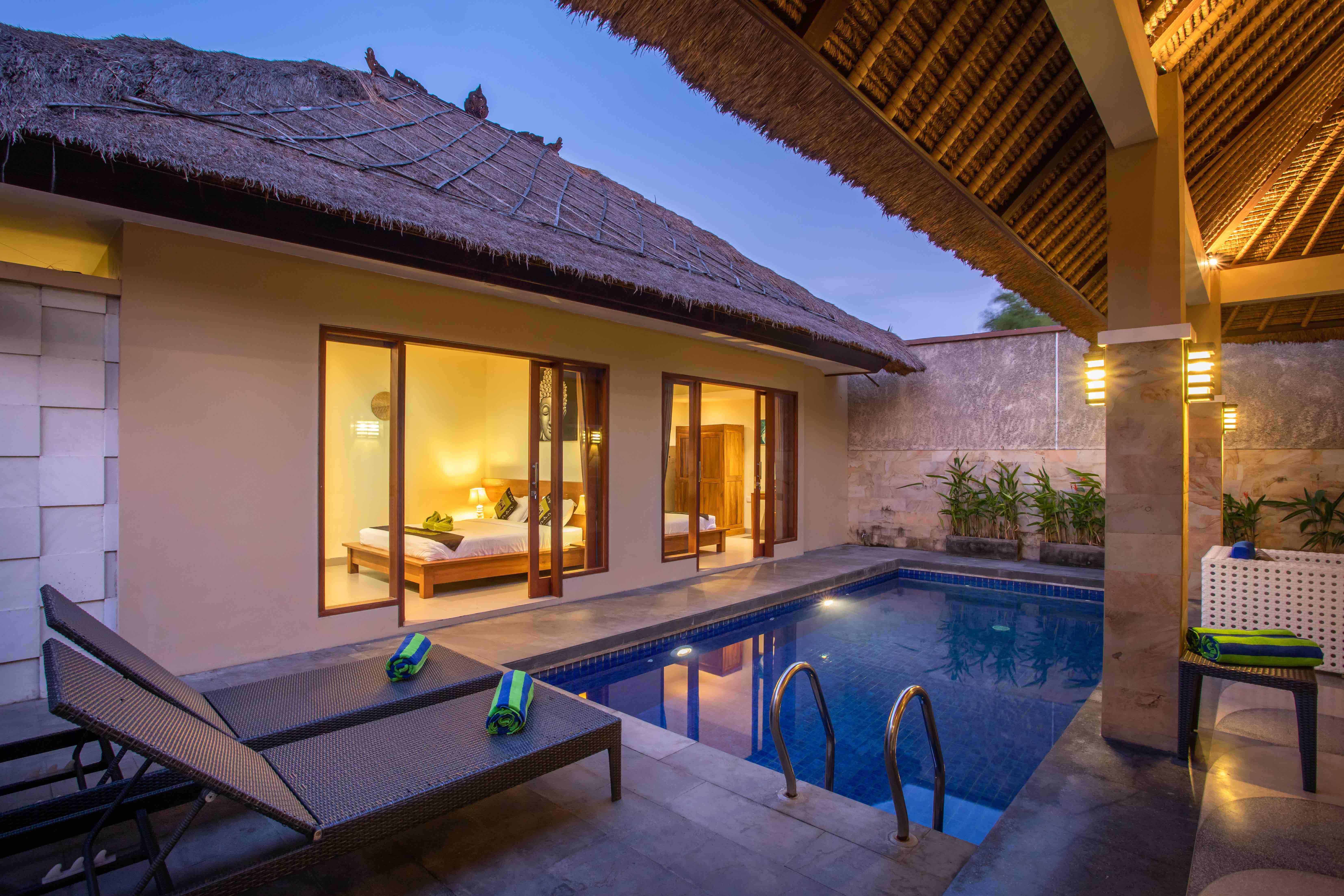 New 2 Bedrooms Villa Seminyak For Monthly Villas For Rent In Petitenget Bali Indonesia