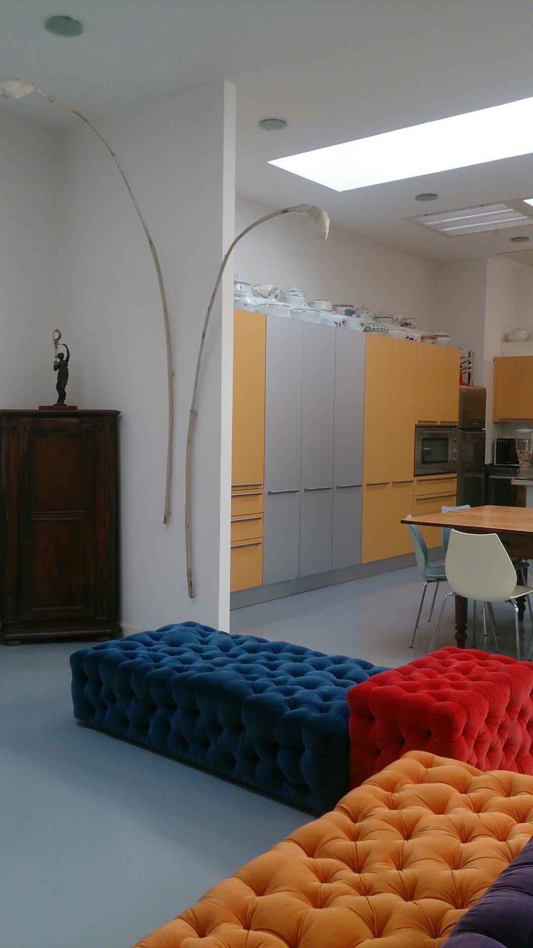 Sauna In Casa Consumi loft del velista: 300 mq, sauna, area fitness - lofts for