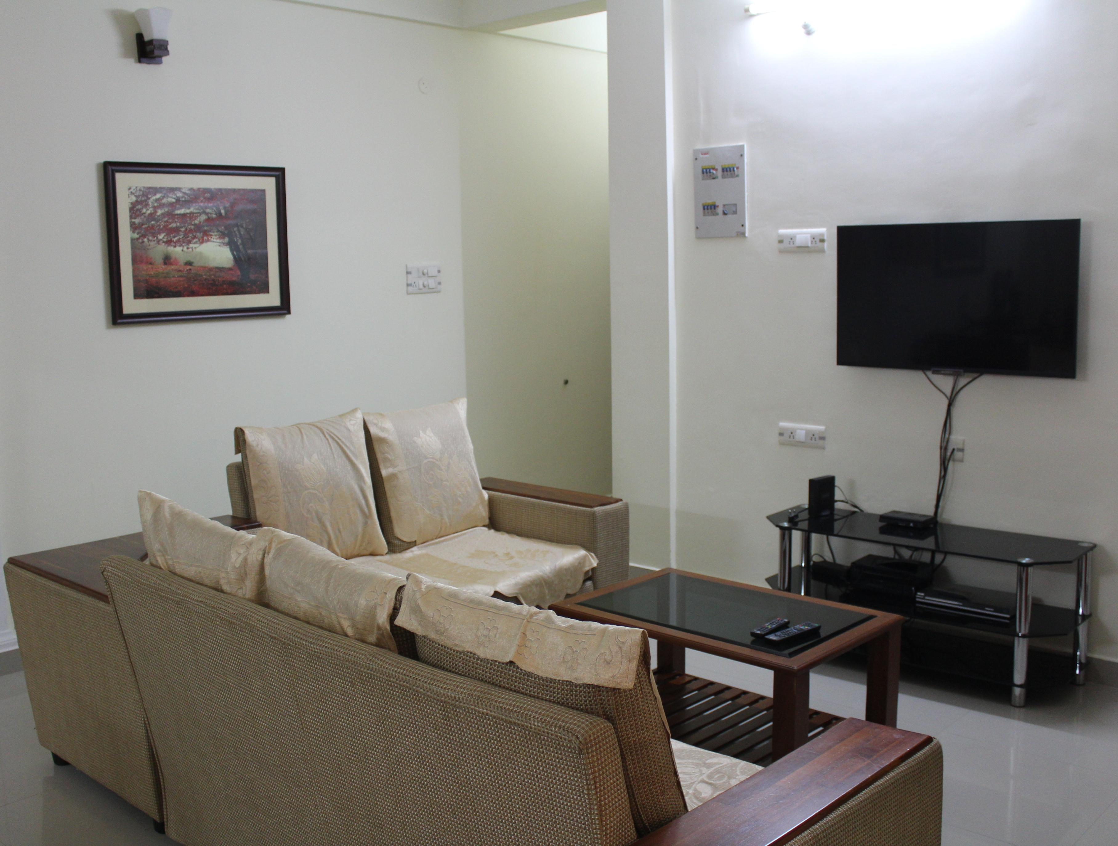 Fully Furnished 3 Bhk A C Apartment Apartments For Rent In Kochi Kerala India