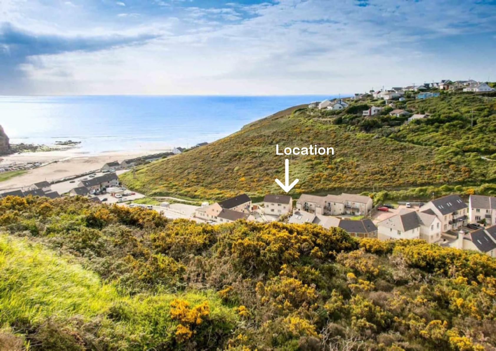 Cornwall Porthtowan Near Beach Seaside Whole House Houses