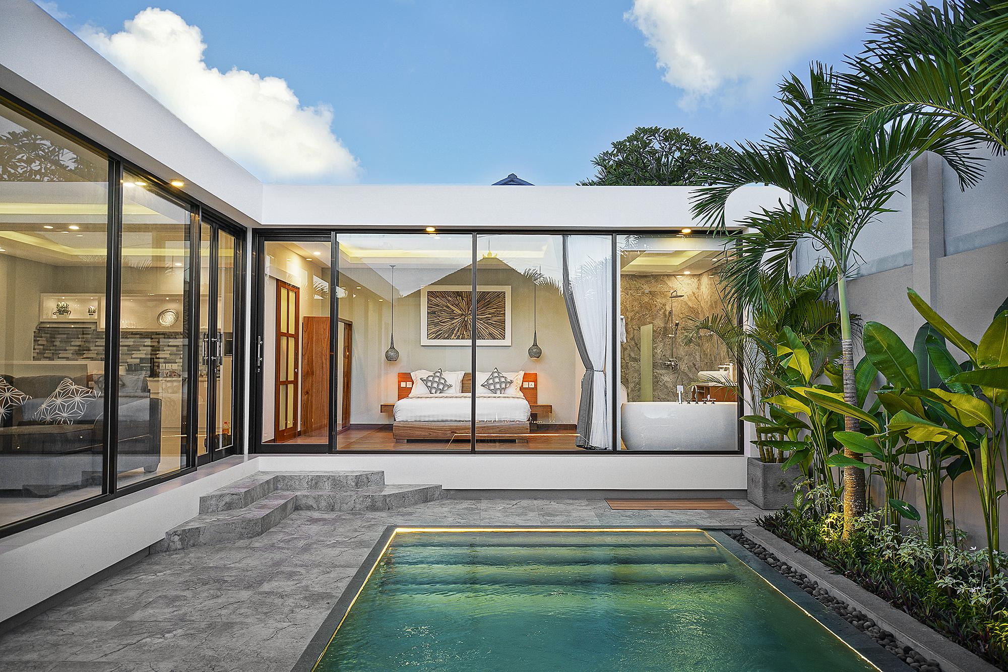 Pearl Of Bali Villa In The Center Of Oberoi Villas For Rent In Kuta Bali Indonesia