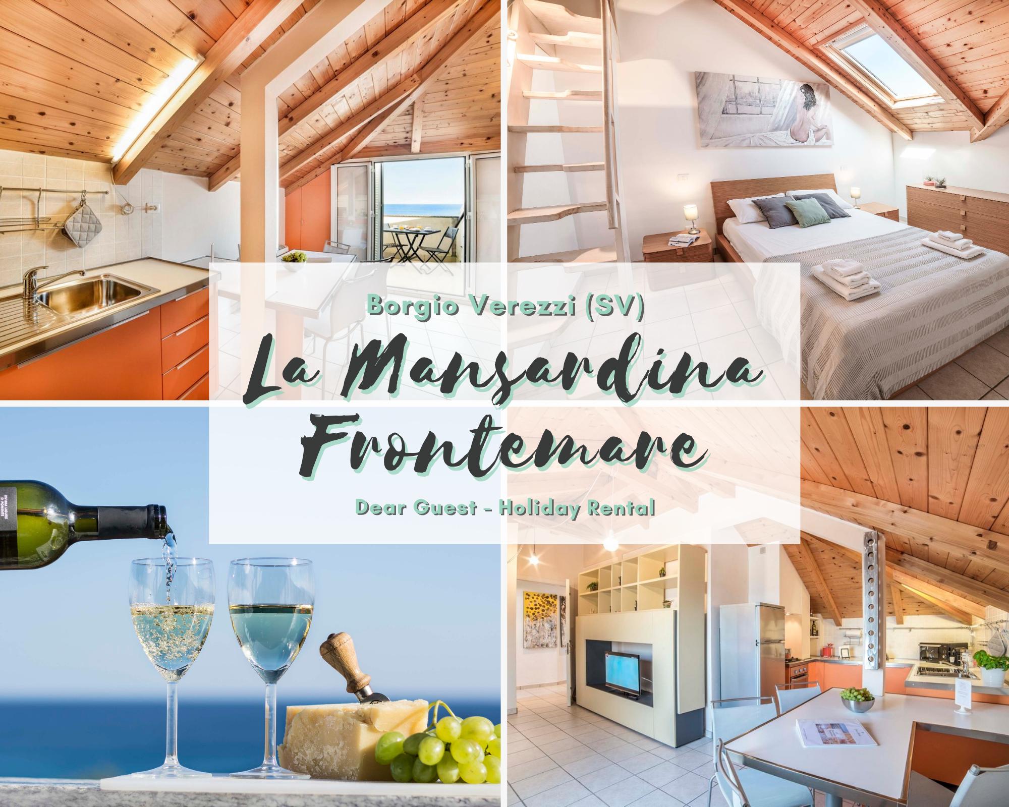 The attic beachfront   Apartments for Rent in Borgio Verezzi ...