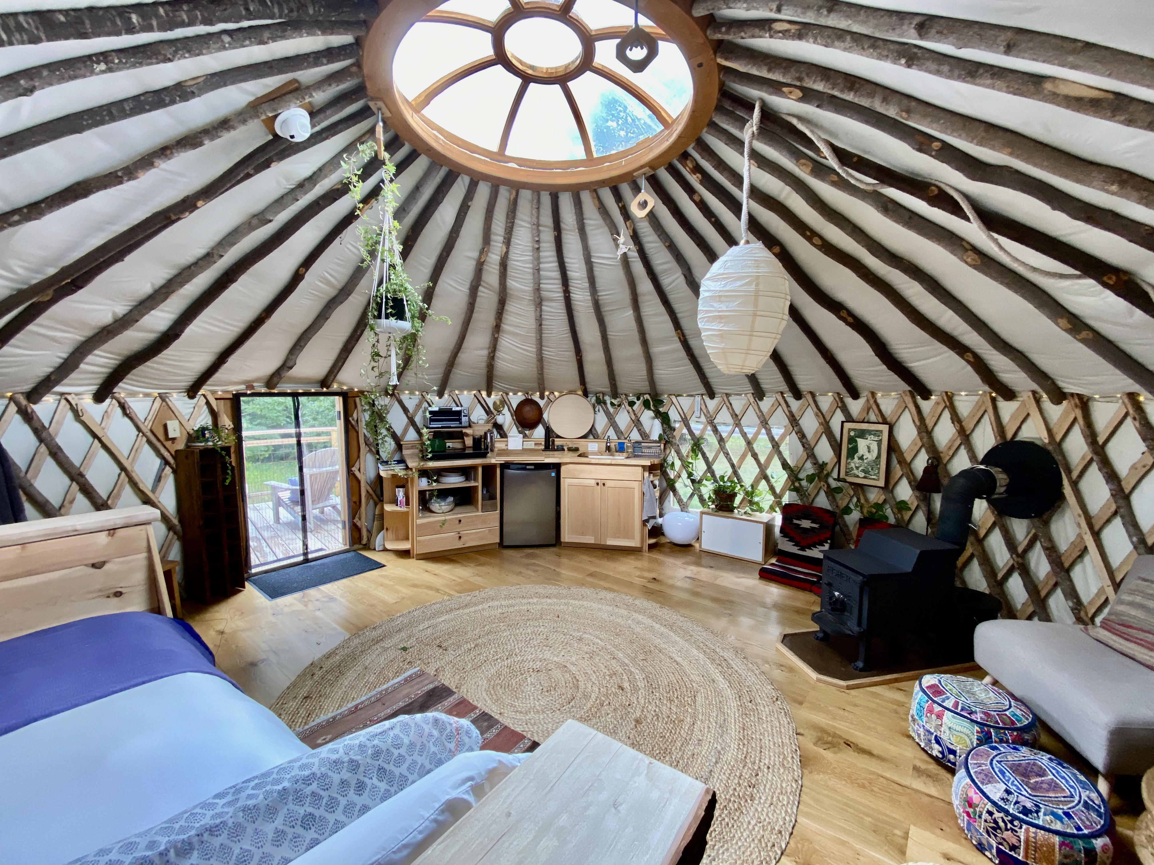 Vermont Retreat Yurt A Restorative Escape Yurts For Rent In Putney Vermont United States